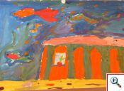 «Дворец русалочки»,  Маша Д., 5 лет.
